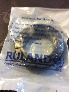 RULAND MANUFACTURING CL-20-F Shaft Collar,Clamp,1Pc,1-1/4 In,Steel