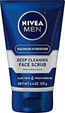 3 Pack - Nivea for Men Energizing Face Scrub 4.4 oz (125 g) Each