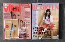 NEU, 2 Zeitschriften : Vital und Be Green von Brigitte