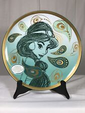 Disney Art of Jasmine Limited Edition Collector's Plate Aladdin LE #73/500 COA