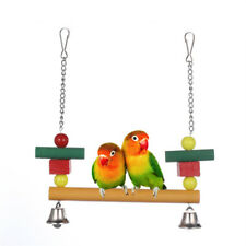 Creative Swing Chew Decor Beads Blocks Climbing Toy For Pet Parrots Birds S
