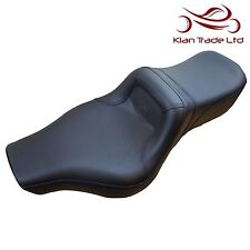Motorbike Seat Royal Enfield CLASSIC MODEL Dual Fatty Chunky Saddle Leather