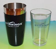 Lot of three 2-Piece Stirrings Cocktail BOSTON SHAKER Sets