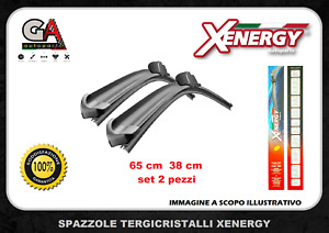 Spazzole tergicristallo FIAT GRANDE PUNTO EVO kit 2 FLAT TOP