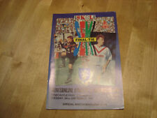 Scottish League Dunfermline Teams C-E Football Programmes