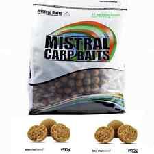 Mistral Baits 1kg Sweet Biscuit 15mm Instant Carp Food Range Boilies