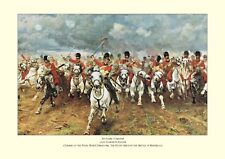 "Battle of Waterloo (1815) - ""Scotland Forever!"" - Charge of The Scots Greys"