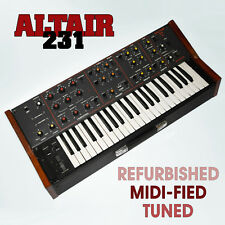 ALTAIR 231 - SOVIET ANALOG SYNTHESIZER with MIDI ussr russian minimoog estradin