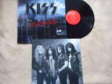 """KISS """"REVENGE"""" LP 1992 VERY RARE ORIGINAL STOCK COPY U.K. ONLY MINT- W/ CARR JAM"""