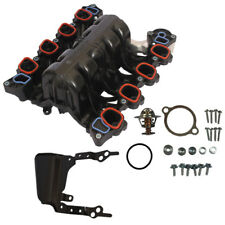 Intake Manifold With Thermostat & Gaskets Kit For Ford Mercury Lincoln 4.6L V8