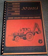 EO2621 Ersatzteilkatalog EO 2621A no Belarus MTS Fortschritt TIH T157 T174