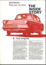1965 FORD ANGLIA 105E BROCHURE MANUAL RS