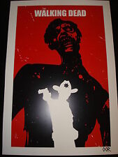 The Walking Dead Rick poster print