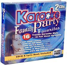FAMILY FAVOURITES 2 Pack MKP2 2772 karaoke cdg Madacy
