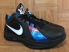 RARE🔥 Nike Zoom KD 3 III OKC Thunder Black Photo Blue Team Orange 11 417279-001