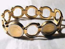 Bioflow Pirouette Gold Plated Finish Magnetic Therapy Bracelet