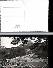 304085,Lungern Totale Bergkulisse Kt Obwalden