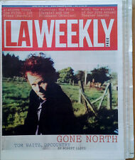 Tom Waits - L.A. Weekly - Cover Story - April 23 - 29, 1999 - 195 Page Magazine
