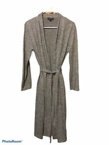 Jones New York Grey Polyester Blend Robe Size L/XL
