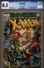 X-MEN #105 CGC 8.5 35 CENT VARIANT WHITE PAGES 1977