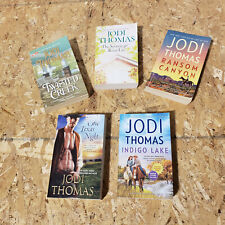 JODI THOMAS lot of 3 paperback books Twisted Creek Indigo Lake Ransome Canyon