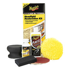 Meguiar's HEAVY DUTY HEADLIGHT RESTORATION KIT Sending Polishing Protect System