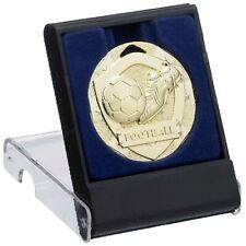 Football 50mm Medals Sport Team Club School FREE Engraving, Box & UK pp G765/6/7