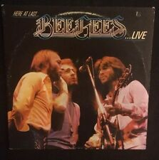 BEE GEES {Here At Last...Live} LP Record 1977 Vinyl Album RS-2-3901