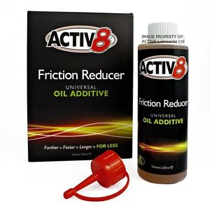 250ml - ACTIV8 Oil Additive - All Suzuki Motorcycles and more.....