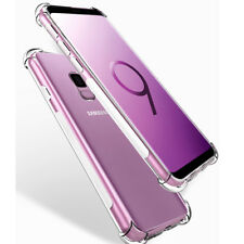 Clear Glossy Back Case Bumper Slim Soft TPU Case Cover For Samsung GalaxyS9 Plus