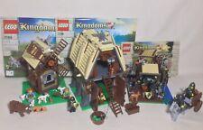 Lego Kingdoms Medieval Village Lot Barn Farm Blacksmith 6918 7189 + Extra Pieces