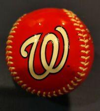 Red Washington Nationals Team Logo Ball MLB Baseball Rawlings