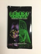 Star Wars Jedi Knights TCG CCG First Day Of Printing Booster Pack 1st New!