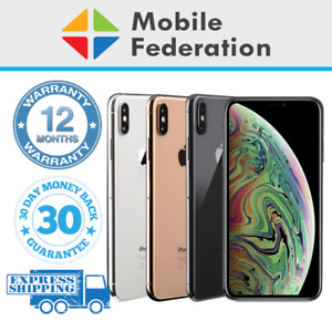 Apple iPhone XS Max 64GB 256GB 512GB Unlocked [AU Stock] As New Condition