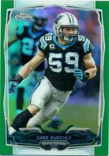 2014 TOPPS CHROME GREEN REFRACTOR PARALLEL - U PICK FROM LIST - #1 to #120