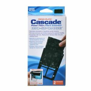 LM Cascade Power Filter 300  Bio-Sponge Cartridge (2 Pack)