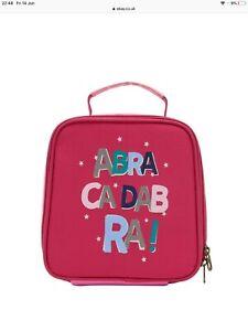 BNWT Joules Girls True Abracadabra Magic Lunch Munch Bag Lunchbag FREE Lunchbox