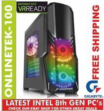 Intel 8th GEN 6 Core i7 8700K 240GB SSD  + 1TB 16gb GTX 1070 8GB  WiFi Gaming PC