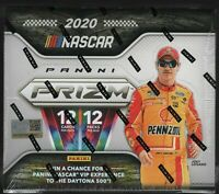 IN STOCK 2020 Panini Prizm Racing NASCAR Hobby Box 4 Autographs Per Box
