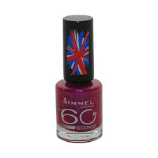 Rimmel Dries in 60 Seconds Nail Polish Color Pulsating #530 Pink Fast Ship