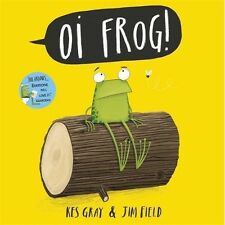 Oi Frog! Childrens Book Kids Story Picture Rhyme Dog Cat Animals Stocking Filler