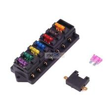 12/24V Car Truck Boat 8 Way Circuit Standard Blade Fuse Box Holder Block ATC ATO