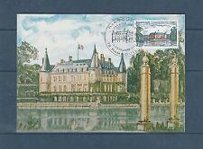 carte  1er jour  chateau de  Rambouillet    1980