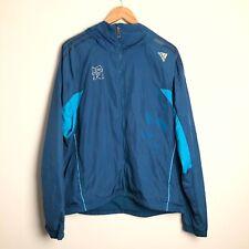 Adidas Climaproof London 2012 Olympics Blue Zip Up Jacket RARE Large L
