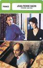 FICHE CINEMA FRANCE Jean-Pierre Bacri Acteur Actor Scénariste
