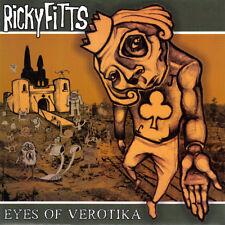 "EYES OF VEROTIKA / RICKYFITTS split 7"" punk hardcore screamo Ten Grand Back When"