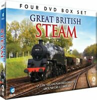 Great British Steam [DVD] -  CD XCVG The Fast Free Shipping