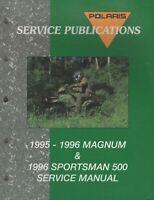1995,1996 POLARIS ATV MAGNUM & SPORTSMAN 500  SERVICE MANUAL 9913681 (844)
