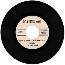 """THE NEW PHASE  """"LOVE IS THE NAME OF THE GAME (Pt. I)""""  70's MOVER  LISTEN!"""