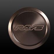 RAYS VOLK RACING ZE40 CENTER CAP Standard TypeBronze X 4ZE40-BR